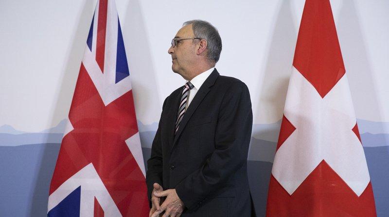 Brexit: la finalisation d'un accord est une bonne nouvelle pour la Suisse