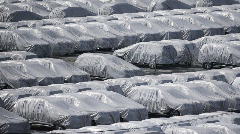 Les Suisses ont peu acheté de nouveaux véhicules en 2020.