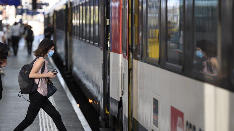 Coronavirus: en Suisse, la fréquentation des transports publics a chuté de 60% en un an