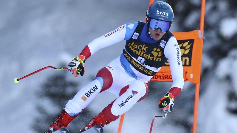 Niels Hintermann (ici à Val Gardena le 19 décembre dernier) s'est blessé à Bormio.
