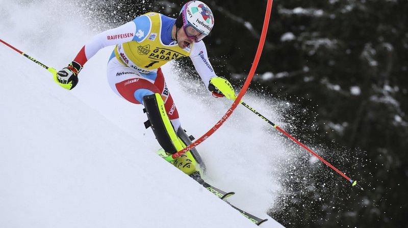 Ski alpin – Slalom d'Alta Badia (I): Daniel Yule en embuscade, l'Italien Vinatzer mène