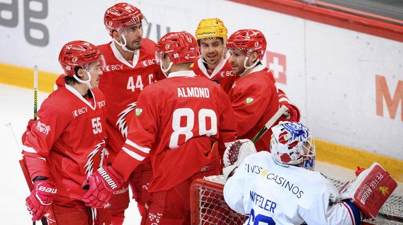 Hockey sur glace – National League: succès précieux pour le Lausanne HC