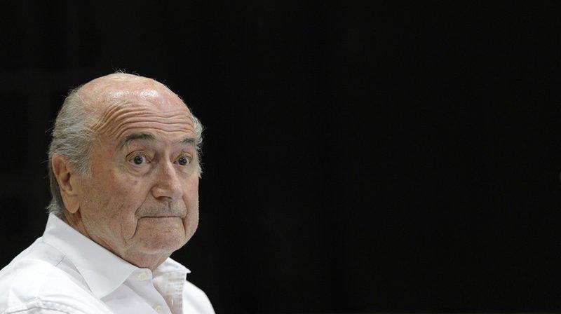 Football: Joseph Blatter a été hospitalisé