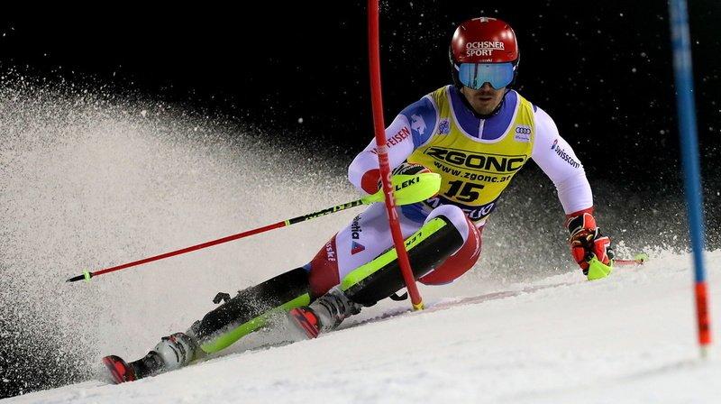 Ski alpin: les Suisses hors du top ten au slalom de Madonna remporté par Kristoffersen