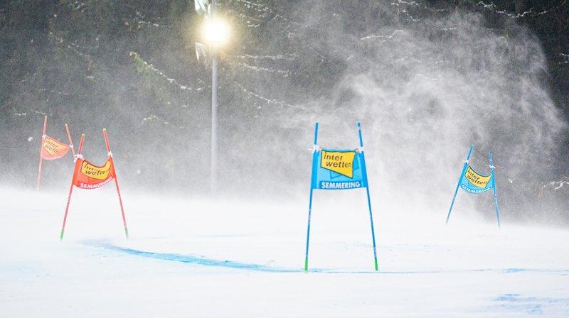 Ski alpin: la deuxième manche du géant dames de Semmering annulée à cause du vent
