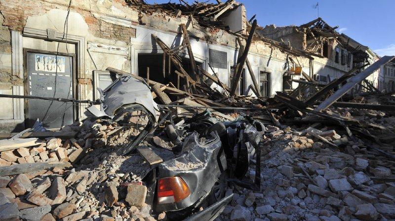 La Croatie touchée par un séisme d'une magnitude de 6,4, au moins six morts