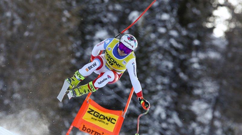 Ski alpin: Urs Kryenbuehl troisième de la descente de Bormio, Matthias Mayer vainqueur