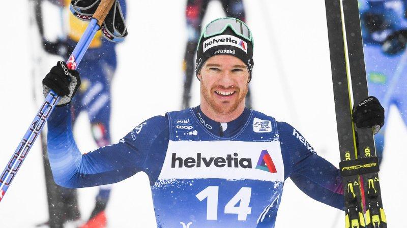 Tour de Ski: Dario Cologna a pris la 2e place du 10 km classique