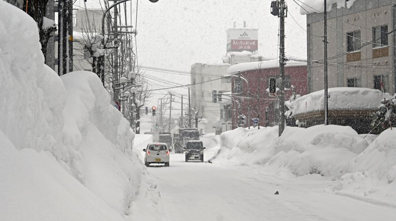 Japon: une tempête hivernale fait 8 morts et 240 blessés