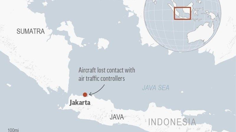 Indonésie: un Boeing 737 disparait des radars avec 50 passagers à bord