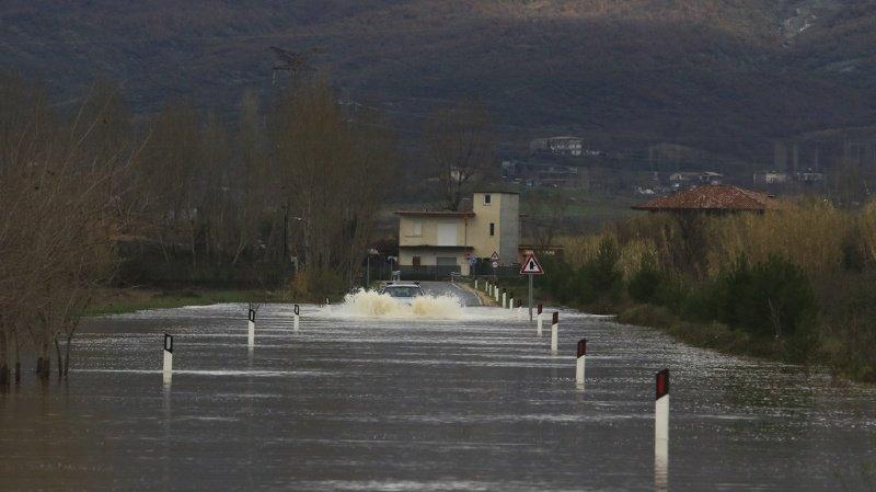 Intempéries: de fortes inondations frappent l'Albanie et le Kosovo