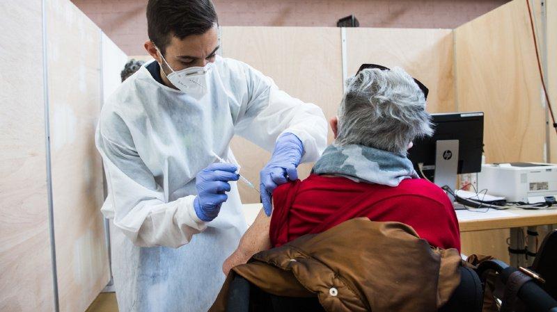 Coronavirus: selon de premières estimations, 66'000 vaccinations jusque-là