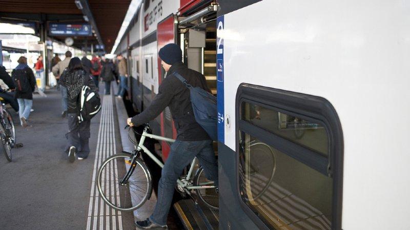 A partir du printemps 2021, il sera obligatoire de réserver une place pour son vélo sur toutes les lignes longue distance. (illustration)