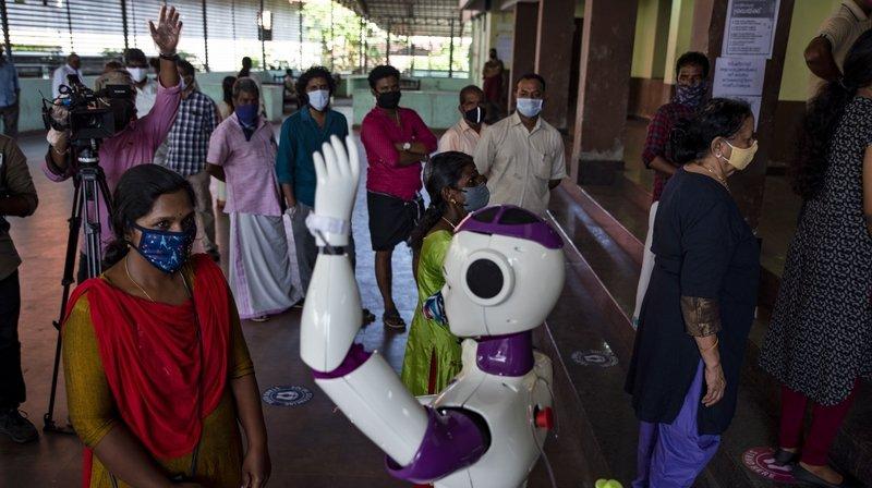 Coronavirus: les robots compagnons connaissent un regain d'intérêt en temps de pandémie