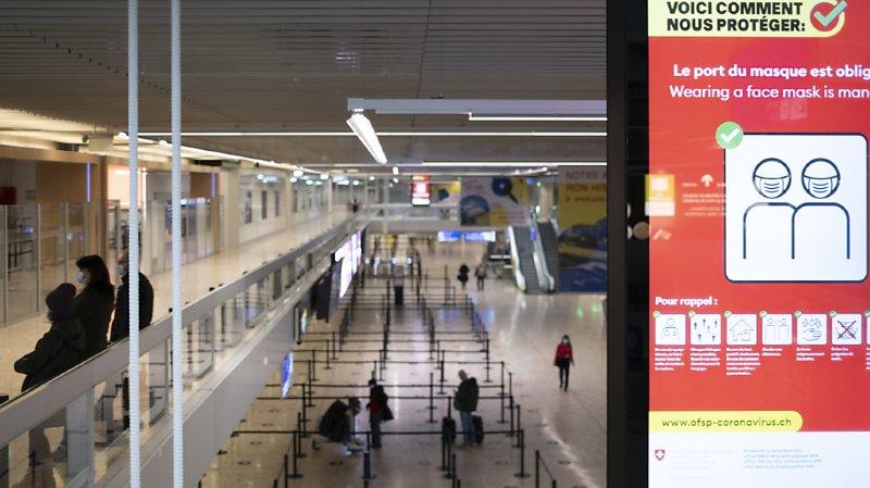La période de Noël, d'habitude particulièrement chargée pour l'aéroport de Genève, a été calme. L'aéroport a constaté une diminution de fréquentation de 84% par rapport à l'année passée.