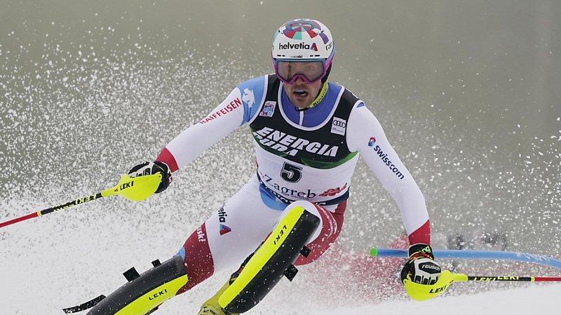 Daniel Yule a réussi le 12e temps en première manche à Zagreb.