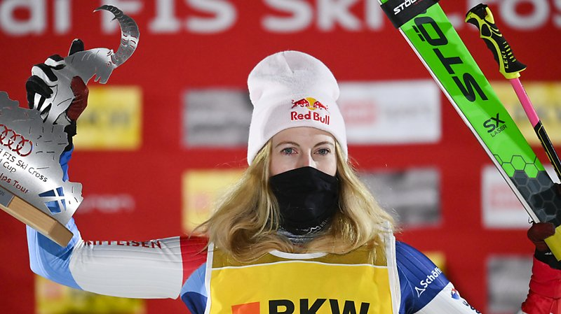 Skicross: Fanny Smith s'impose à Val Thorens et signe le 25e succès de sa carrière