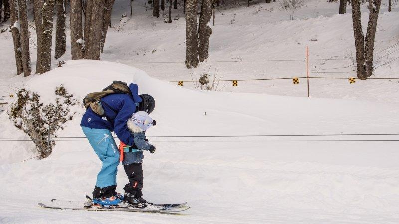Saint-Cergue: l'ouverture des pistes de ski prolongée