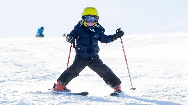 Les enfants de 6 à 12 ans des communes de Région de Nyon peuvent skier gratuitement.