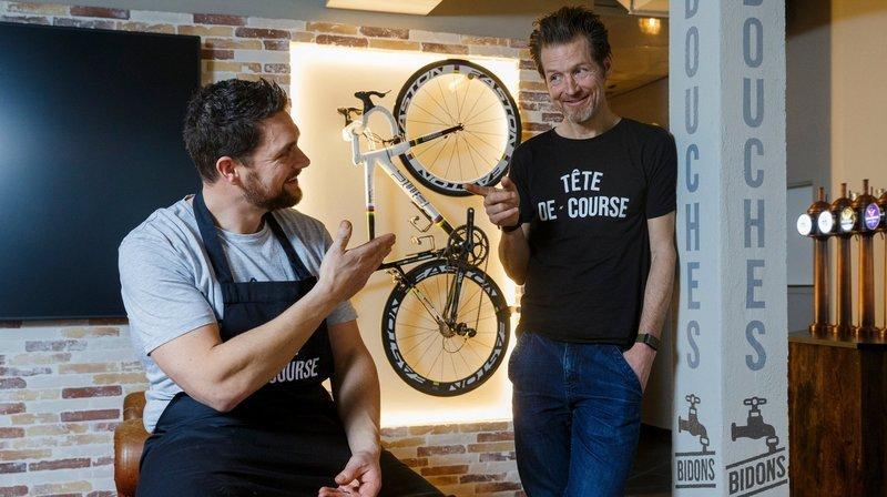 Bistrot et atelier, Tête de course veut mêler vélo et convivialité à Nyon