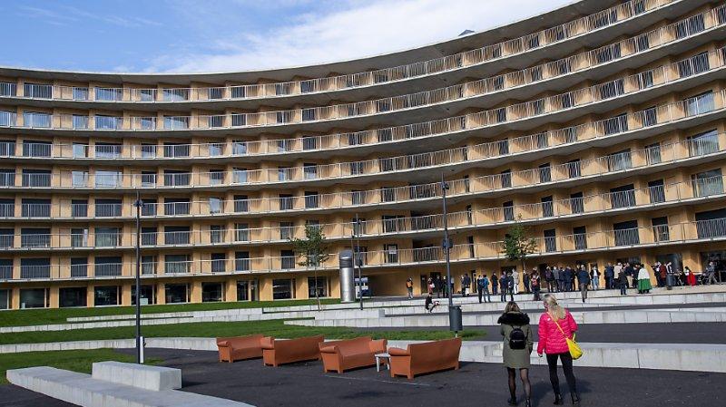 La fondation gère notamment le Vortex, près de l'Université de Lausanne (archives).