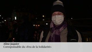 """Le """"Feu de la solidarité"""" brûle depuis 40 ans sur le pont Bessières"""