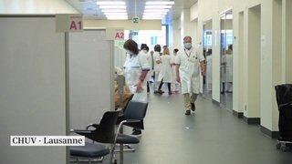 Ouverture des centres vaudois: un Nobel vacciné