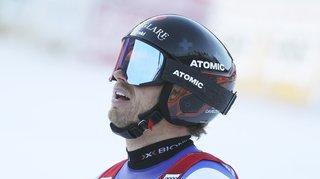 Ski alpin: Mauro Caviezel également touché au genou