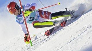 Ski alpin: Loïc Meillard termine 5e du slalom d'Adelboden remporté par Marco Schwarz