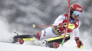 Ski alpin: Meillard 5e après la 1re manche du second slalom de Flachau