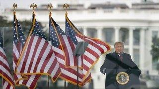 Etats-Unis: la fin de règne en roue libre du président Donald Trump