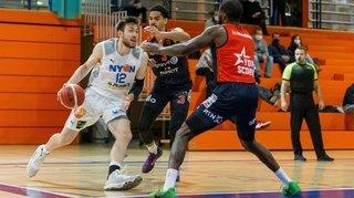 Le BBC Nyon se fait souffler la victoire à Lugano