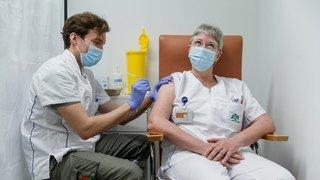 Vaccin anti-Covid: des soignantes de La Lignière montrent l'exemple