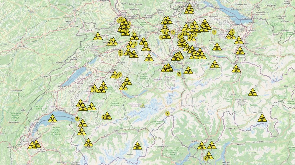 Le site web enregistre sur une carte les foyers de contamination aux nouveaux variants dans les écoles suisses.