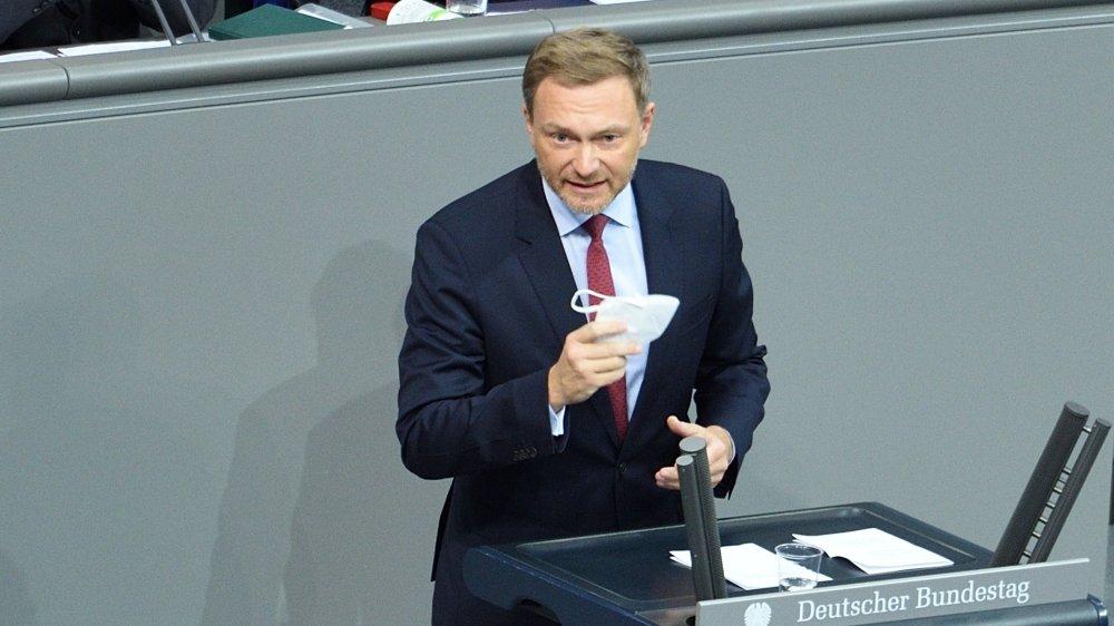 Nous devons commencer à retrouver la voie de la consolidation dès 2021, a affirmé le président du Parti libéral Christian Lindner.
