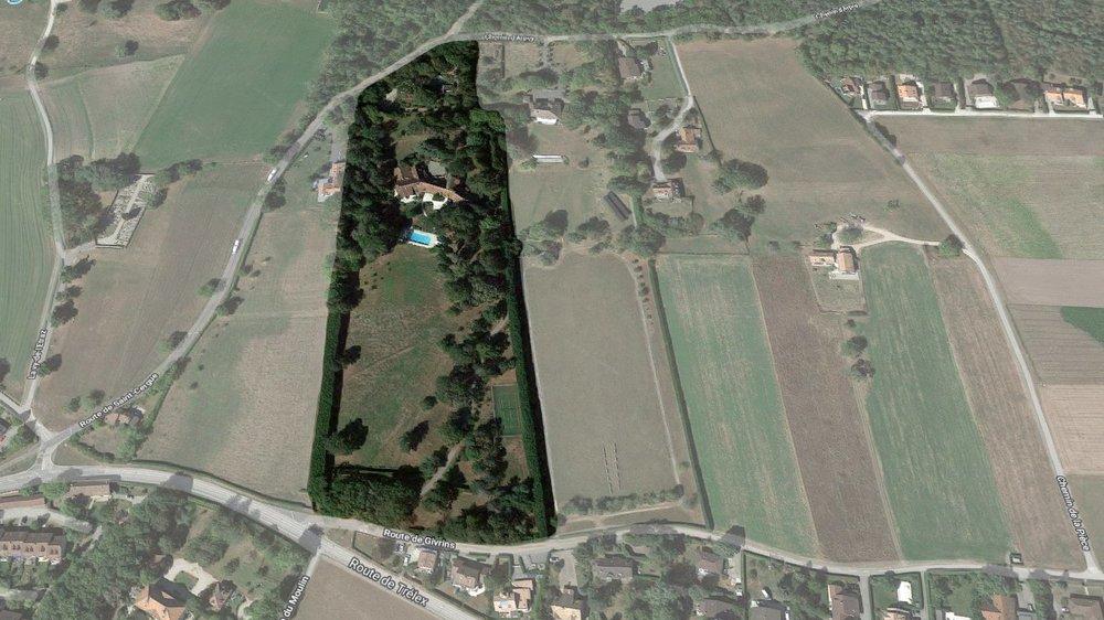 Les 4 hectares de la propriété Boislande, aux portes du village de Gingins, devraient enfin retrouver vie après des années sur le marché de l'immobilier de luxe.
