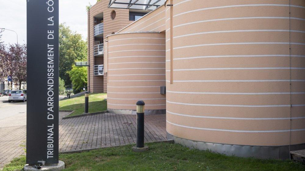 Le Tribunal d'arrondissement de La Côte à Nyon.