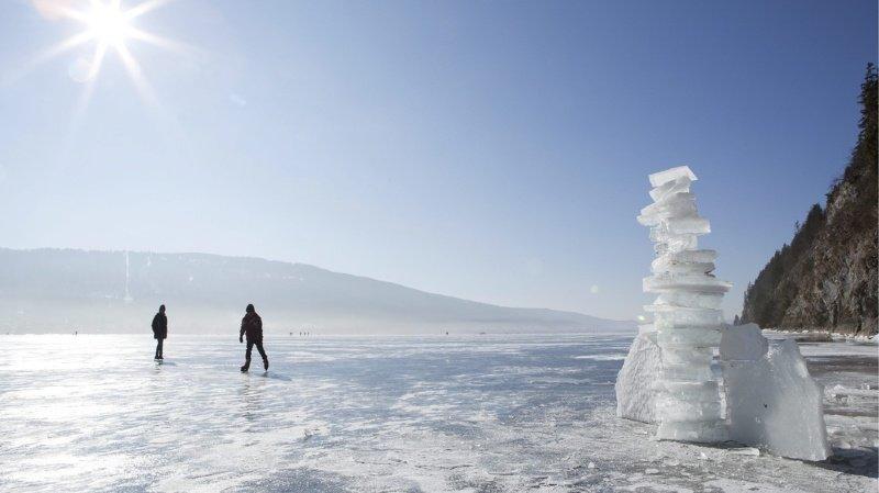 Climat: disparition de la glace, manque de brassage, les lacs suisses menacés