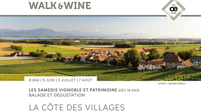 Visite guidée - La Côte des villages