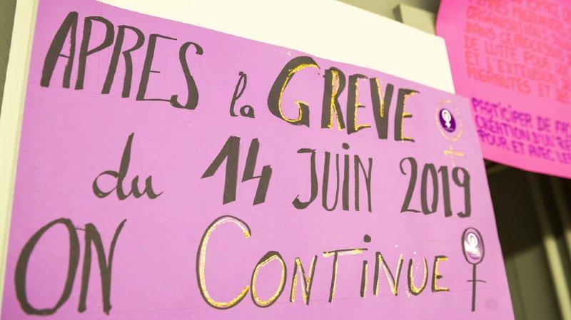 Grève féministe: plus de 500 femmes se mobilisent contre les inégalités croissantes