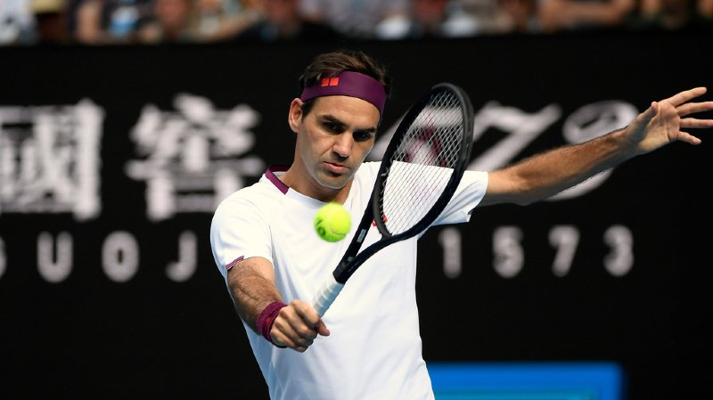 Tennis: Roger Federer compte rejouer en mars à Doha