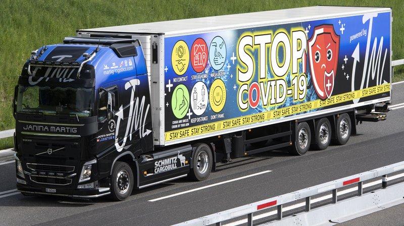 Coronavirus: les restaurants pour routiers peuvent rouvrir en Suisse