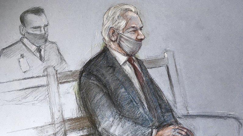 L'Australien de 49 ans est détenu au Royaume-Uni en attendant que la justice britannique examine l'appel.