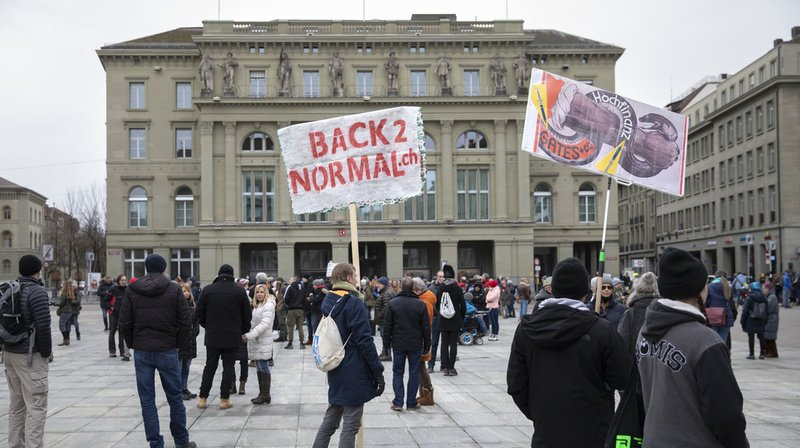 Coronavirus: nouvelle manifestation anti-masques à Berne samedi