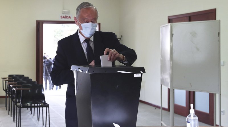 Portugal: le président sortant Marcelo Rebelo de Sousa a été réélu