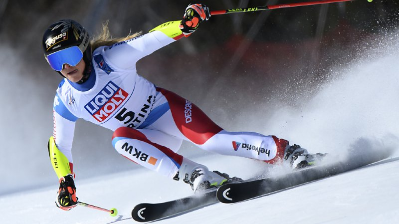 Ski alpin - Mondiaux de Cortina: Gut-Behrami et Gisin dans la course, Shiffrin mène le Géant