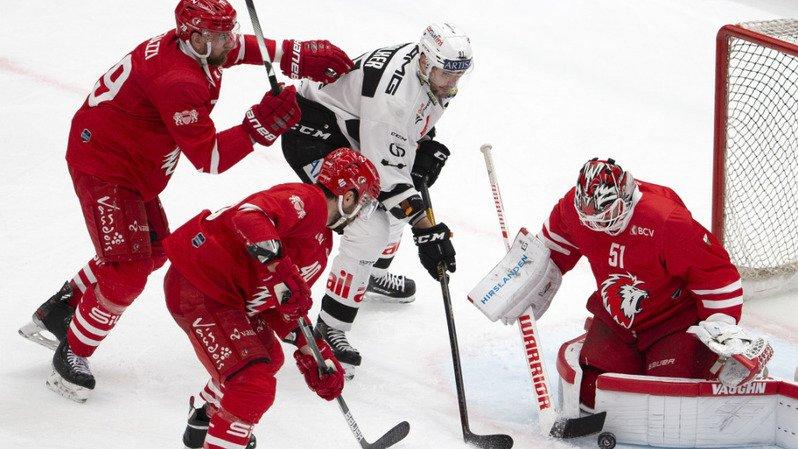 Hockey sur glace – National League: Lausanne battu en prolongation par Lugano, Berne et Davos vainqueurs