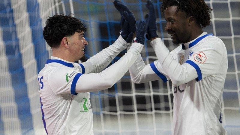 Football: Sion prend un point contre Saint-Gall, Lausanne bat Servette