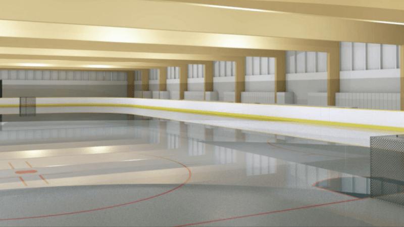 Gland tient sa solution pour s'équiper d'une patinoire fixe «low cost»