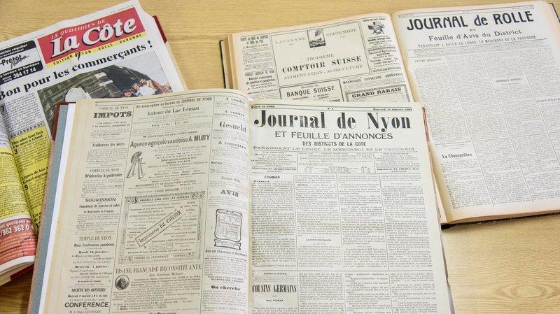 L'histoire de La Côte au jour le jour depuis 180 ans en quelques clics